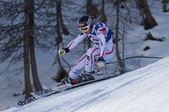 FRA: Alpine skiing Val D'Isere Women DH trg2 Stock Photo
