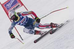FRA: Alpine skiing Val D'Isere Women DH trg1 Stock Image