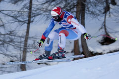 FRA: Alpine skiing Val D'Isere Women DH trg2 Royalty Free Stock Photo