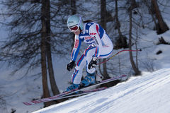 FRA: Alpine skiing Val D'Isere Women DH trg2 Royalty Free Stock Images