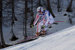 FRA: Alpine skiing Val D'Isere Women DH trg2 Stock Image