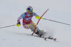 FRA: Alpines Skifahren Val- D'Iseresuper kombiniert Lizenzfreies Stockbild