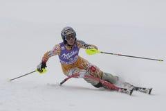 FRA: Alpines Skifahren Val- D'Iseresuper kombiniert Lizenzfreies Stockfoto