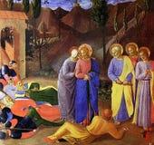 Fra Angelico - Kus van Judas Stock Foto's