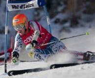 FRA: El GS de los hombres de Val D'Isere del esquí alpino Imágenes de archivo libres de regalías