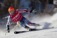 FRA: GS των ατόμων Val D'Isere alpine skiing Στοκ Εικόνες