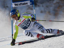FRA: GS των ατόμων Val D'Isere alpine skiing Στοκ εικόνες με δικαίωμα ελεύθερης χρήσης