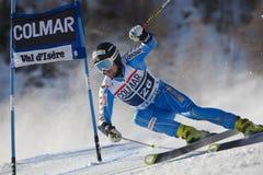 FRA: GS των ατόμων Val D'Isere alpine skiing Στοκ φωτογραφίες με δικαίωμα ελεύθερης χρήσης