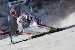FRA: GS των ατόμων Val D'Isere alpine skiing Στοκ Φωτογραφία