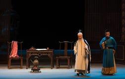 """Fra il monarca ed il suo Shan di oggetto-Shanxi Operatic""""Fu al  di Beijing†Immagine Stock Libera da Diritti"""
