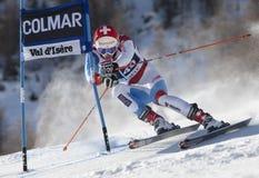 FRA : Le GS des hommes de Val D'Isere de ski alpin Images stock
