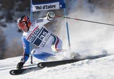 FRA : Le GS des hommes de Val D'Isere de ski alpin Photos libres de droits