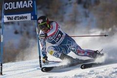 FRA : Le GS des hommes de Val D'Isere de ski alpin Image libre de droits