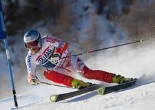 FRA : Le GS des hommes de Val D'Isere de ski alpin Image stock