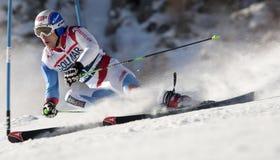 FRA : Le GS des hommes de Val D'Isere de ski alpin Images libres de droits
