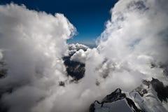 Fra le nubi - Nuova Zelanda Fotografie Stock Libere da Diritti