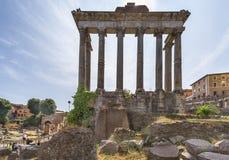 Fra le rovine di Roman Forum Fotografia Stock Libera da Diritti