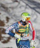 FRA : Le slalom des hommes de Val D'Isere de ski alpin photo stock