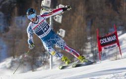 FRA: Val D'Isere för alpin skidåkning mäns GS Arkivfoton