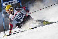 FRA: Val D'Isere för alpin skidåkning mäns GS Royaltyfri Bild