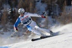FRA: Val D'Isere för alpin skidåkning mäns GS Royaltyfri Fotografi