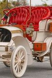 Frabnklin Antique Car. Red and White Antique Franklin Car Stock Photos