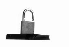 Fracaso de la seguridad de Internet conceptual Imágenes de archivo libres de regalías