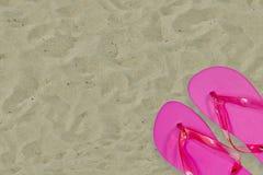 Fracasos de tirón rosados Imagen de archivo libre de regalías