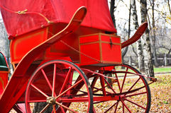 frachtów konia czerwień Obraz Royalty Free