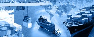 Fracht-Auslegung 7 Stockfotos