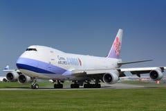 Fracht B747 China Airlines lizenzfreies stockbild