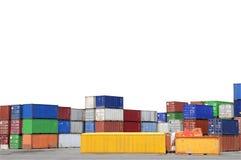 Fracht-Behälter Lizenzfreie Stockfotografie