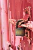 Fracht-Behälter-Front Lizenzfreie Stockfotos