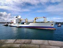 Fracht-Frachter Lizenzfreie Stockfotos
