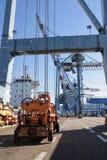 Fracht-Hafen Lizenzfreie Stockbilder