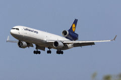 Fracht MD-11 auf Schlüssen Lizenzfreies Stockbild