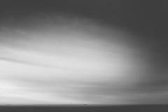 Fracht in Meer Stockbild