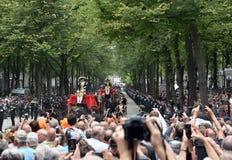 Fracht na Prinsjesdag zdjęcia royalty free