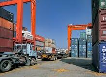 Fracht u. logistisches Lizenzfreies Stockbild