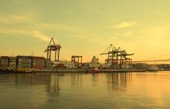 Fracht und Transport Stockbild