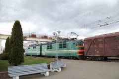 Frachtbahnbeförderung Lizenzfreie Stockbilder