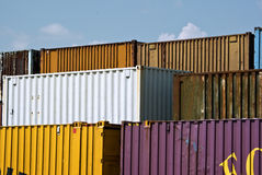 Frachtbehälter Lizenzfreies Stockfoto