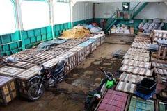 Frachtboot Philippinen Lizenzfreies Stockbild