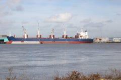 Frachter Lizenzfreies Stockfoto