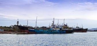 Frachter für Schrott Lizenzfreie Stockfotografie
