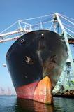 frachtowa ampuła ładujący statek Zdjęcia Royalty Free