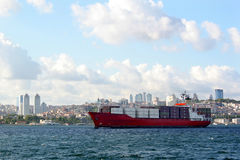 frachtowiec statku zdjęcia stock