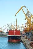 frachtowy port Zdjęcia Stock