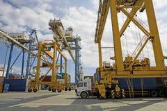 Frachtowy Terminal Przy Limassol Cypr zdjęcie stock