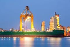Frachtowy transport obrazy royalty free